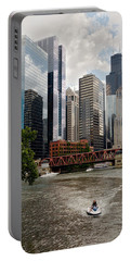 Chicago River Jet Ski Portable Battery Charger