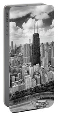 Portable Battery Charger featuring the photograph Chicago's Gold Coast by Adam Romanowicz