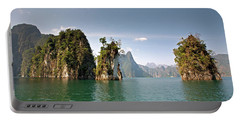 Cheow Lan Lake, Gui-lin Of Thailand Portable Battery Charger