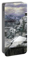 Chiesa San Vito In The Snow Portable Battery Charger