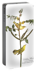 Children's Warbler Portable Battery Charger by John James Audubon