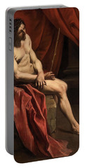 Christ Mocked Portable Battery Charger