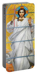 Christ The Redeemer Portable Battery Charger by KG Thienemann