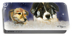 Christmas Doggies Portable Battery Charger