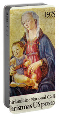 Christmas Stamp Portable Battery Charger by Paul W Faust - Impressions of Light