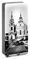 Church Of St Nikolas Portable Battery Charger
