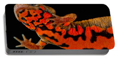 Chuxiong Fire Belly Newt Portable Battery Charger by Dant� Fenolio