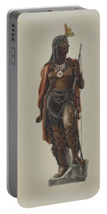 Cigar Store Indian Portable Battery Charger