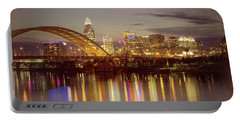 Cincinnati Portable Battery Charger by Scott Meyer