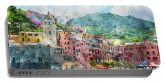 Cinque Terre Italy Portable Battery Charger