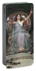 Circe Offering The Cup To Odysseus Portable Battery Charger