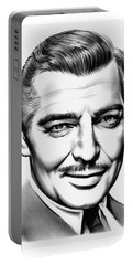 Clark Gable Portable Battery Charger