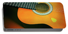 Portable Battery Charger featuring the photograph Classic Guitar  by Carlos Caetano