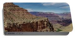 Cliffs In The Grand Canyon Portable Battery Charger
