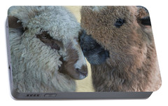 Portable Battery Charger featuring the photograph Close Knit by Robin-Lee Vieira