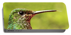 Close-up Of A Rufous-tailed Hummingbird Portable Battery Charger