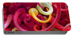 Close-up Of Art Glass By Dale Chihuly Portable Battery Charger
