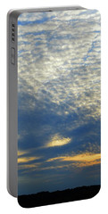 Portable Battery Charger featuring the photograph Clouds Above  by Lyle Crump