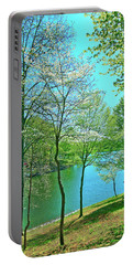 Cluster Of Dowood Trees Portable Battery Charger