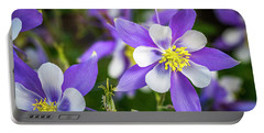 Colorado Columbines Portable Battery Charger
