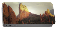 Portable Battery Charger featuring the photograph Colorado Garden Of The Gods Landscape by Andrea Hazel Ihlefeld