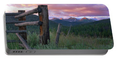 Colorado Glory Portable Battery Charger by Ronda Kimbrow