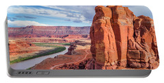 Colorado River And Chicken Corner Trail  Portable Battery Charger