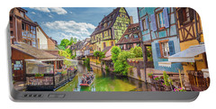 Colorful Colmar Portable Battery Charger by JR Photography