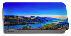 Columbia River Gorge Portable Battery Charger by Nancy Marie Ricketts