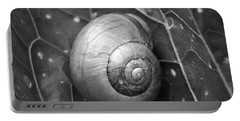 Portable Battery Charger featuring the photograph Conch by Jouko Lehto