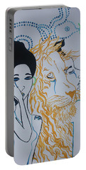 Contemporary Our Lady The Sorrowful Mother Portable Battery Charger