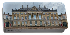 Portable Battery Charger featuring the photograph Copenhagen Amalienborg Palace by Antony McAulay