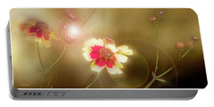Coreopsis Flowers And Buds Portable Battery Charger