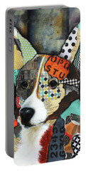 Corgi  Portable Battery Charger by Patricia Lintner