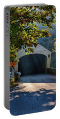 Portable Battery Charger featuring the photograph Cornish-windsor Covered Bridge by Jeff Folger
