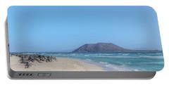 Corralejo - Fuerteventura Portable Battery Charger by Joana Kruse