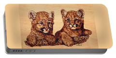 Cougar Cubs Portable Battery Charger
