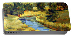 Countryside Portable Battery Charger by Alexandra Maria Ethlyn Cheshire