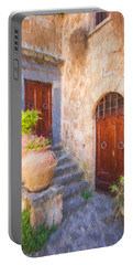 Courtyard Of Tuscany Portable Battery Charger