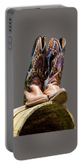 Cowboy Boots  Portable Battery Charger