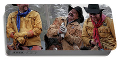 Cowboy Humor Portable Battery Charger