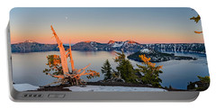 Crater Lake Panorama Portable Battery Charger