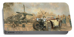 Cream Cracker Mg 4 Spitfires  Portable Battery Charger