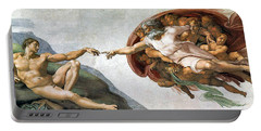 Creation Of Adam Portable Battery Charger