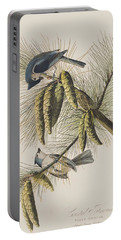 Crested Titmouse Portable Battery Charger