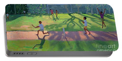 Cricket Sri Lanka Portable Battery Charger by Andrew Macara