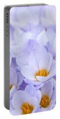 Crocus Flowers Portable Battery Charger