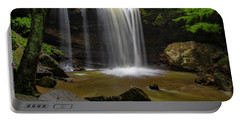 Portable Battery Charger featuring the photograph Cucumber Falls by Ronald Santini