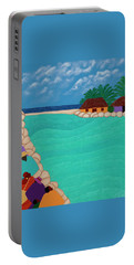 Curacao Lagoon Portable Battery Charger