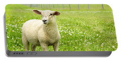 Cute Young Sheep Portable Battery Charger